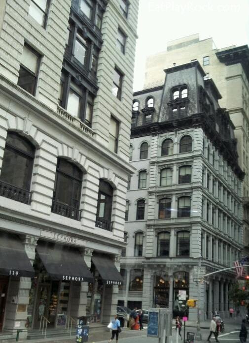 New York City Sephora Building
