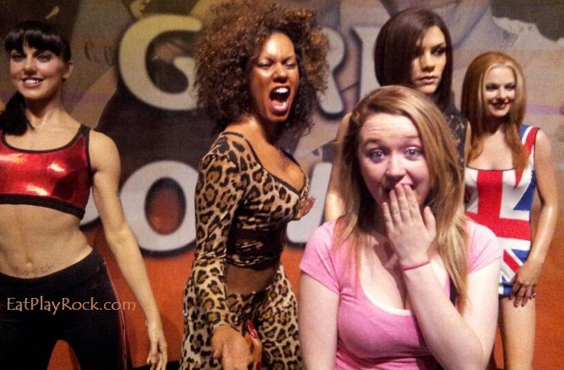 Madame Tussauds Spice Girls