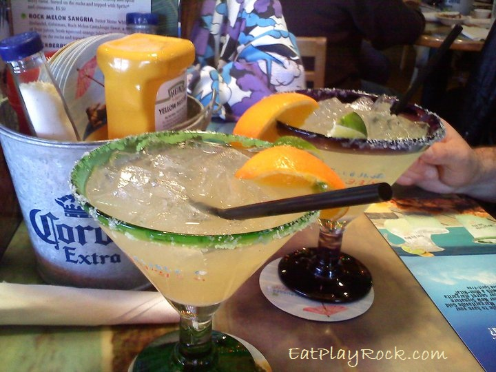 Margaritas at Cheeseburger in Paradise
