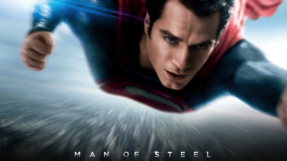 Man of Steel starring Henry Cavill and Amy Adams