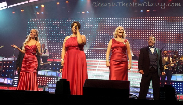 Singers at the Smoky Mountain Opry in Pigeon Forge Tennessee