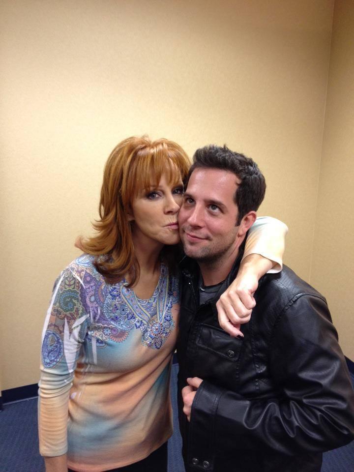 Dominic McManus With Reba McEntire