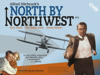 Alfred Hitchcock's North By Northwest, starring Cary Grant and Eva Marie Saint {1959} #50fromthe50s