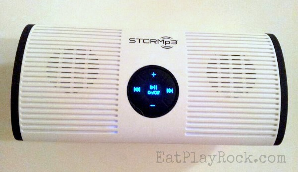 Sing along to your favorite tunes in the shower with the water resistant STORMp3 shower mp3 player #sponsored