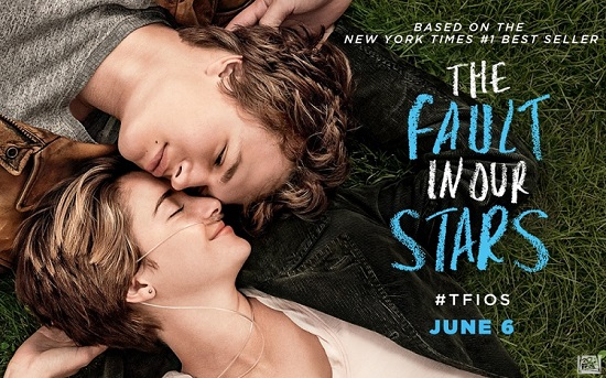 The Fault In Our Stars, based on the best selling book by John Green, stars Shailene Woodley and Ansel Elgort as love struck teens who are fighting illness | Eat Play Rock