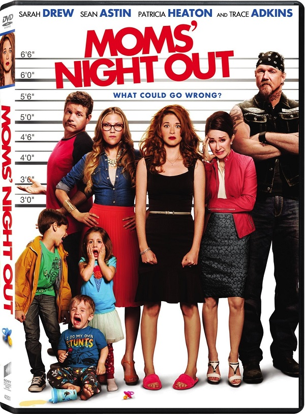 Moms Night Out Starring Sarah Drew And Patricia Heaton #sponsored #MomsNightOut