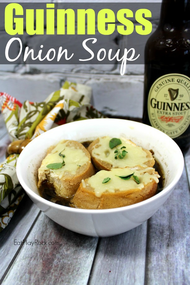 Guiness Onion Soup Recipe | Eat Play Rock