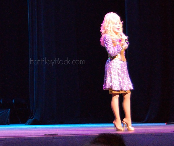 Dolly Parton Speaks During Dollywood 30th Anniversary Season Opening Press Event