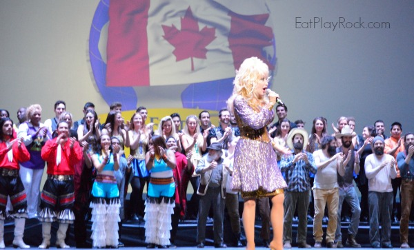 Dolly Parton Performs During Dollywood 30th Anniversary Season