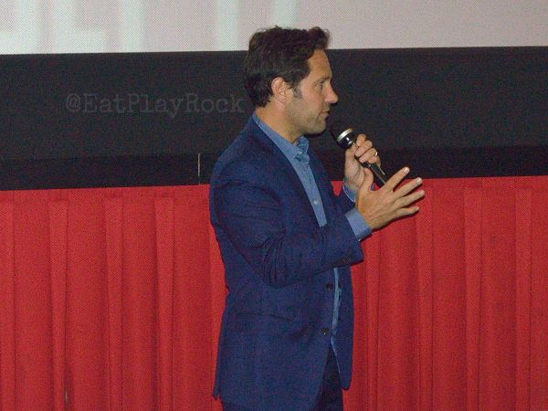 Paul Rudd at the Ant-Man pre-screening in New York City on 7/16
