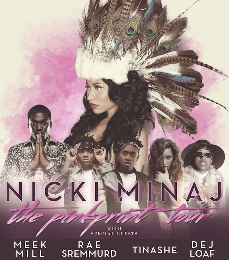 Nicki Minaj Pink Print Tour Setlist