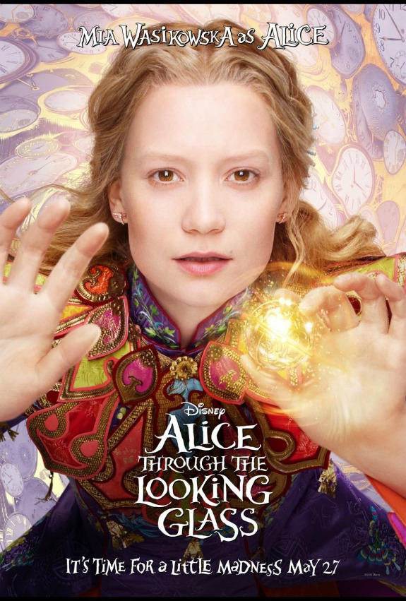 New Alice Through The Looking Glass Trailer #DisneyAlice #ThroughTheLookingGlass