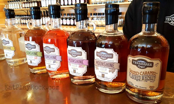 Moonshine Tasting At Tennessee Legend Distillery #travel #ad #Sevierville