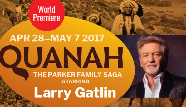 Lyric Stage Presents The World Premiere Of Larry Gatlin's Quanah