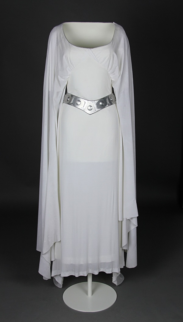 See Princess Leia's 1977 Ceremonial Gown At Star Wars Celebration