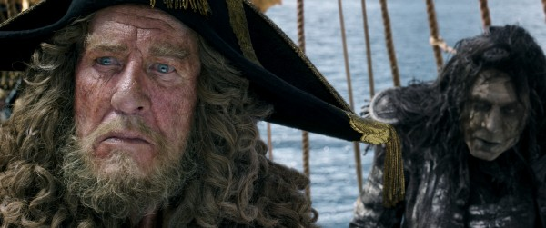 Geoffrey Rush Interview: He Talks Barbossa's Inspiration & Pirate Monkeys #PiratesLifeEvent
