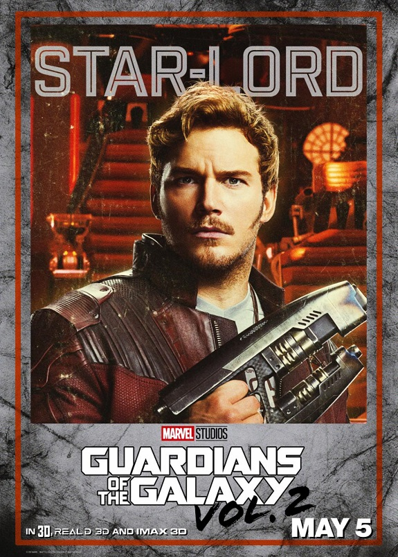Guardians Of The Galaxy: Vol 2 - The Best Prop Featurette + Solo Movie Posters #GotGVol2