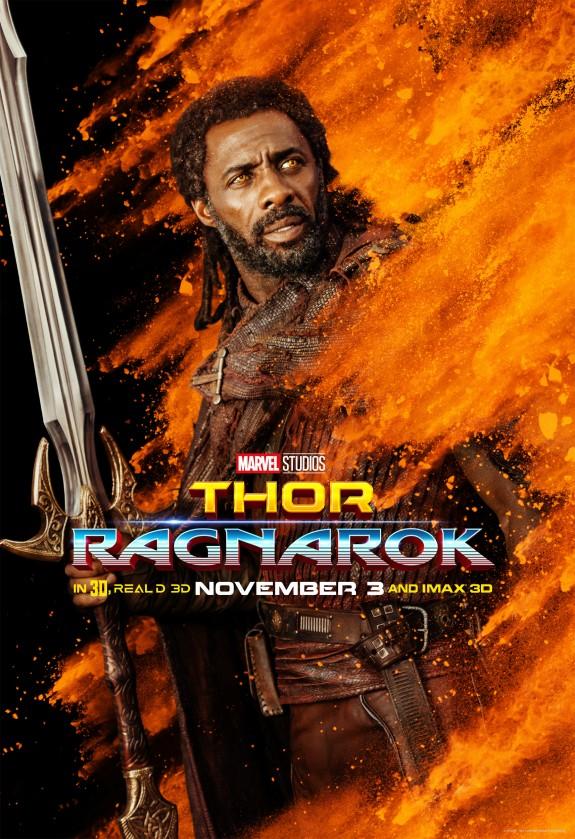 Thor: Ragnarok Character Posters + Brand New Spotlight Video #ThorRagnarok