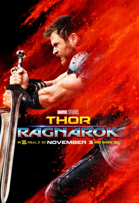 Thor: Ragnarok Character Posters + Brand New Spotlight Video #ThorRagnarok