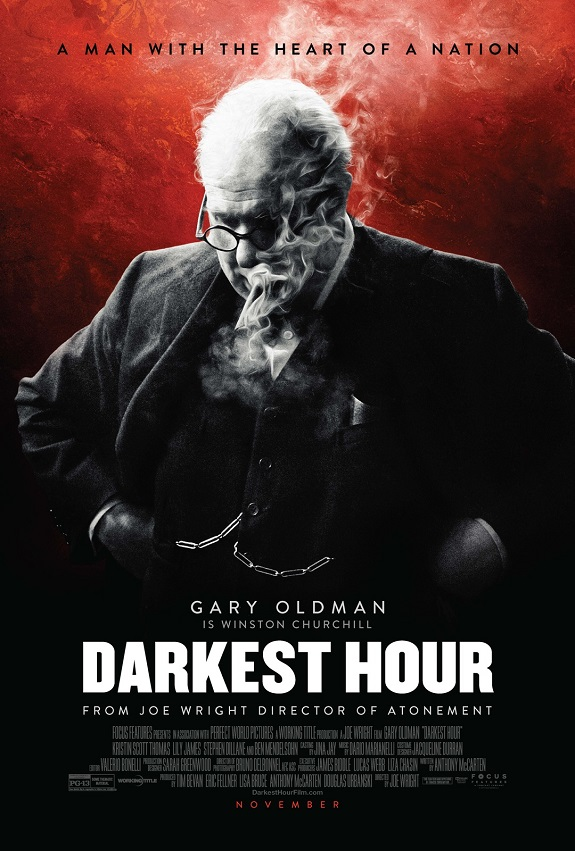Check Out The Latest Darkest Hour Trailer #DarkestHour