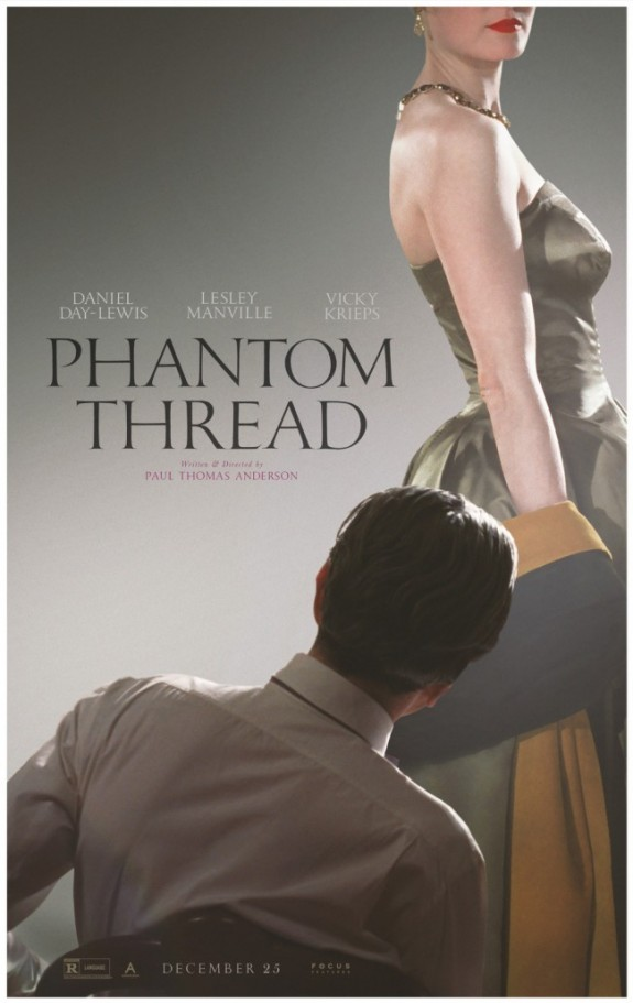Check Out The Official Phantom Thread Trailer & Teaser Poster #PhantomThread