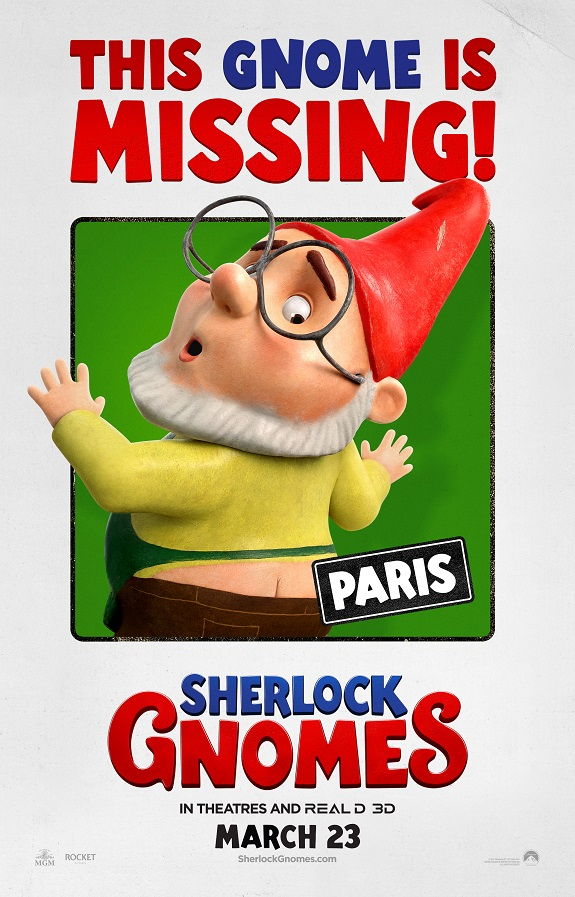 Official Sherlock Gnomes Trailer #SherlockGnomes