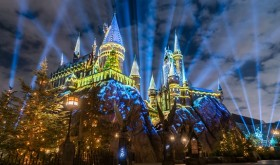 Christmas In The Wizarding World Of Harry Potter Details