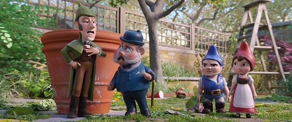 New Sherlock Gnomes Poster & Trailer #SherlockGnomes