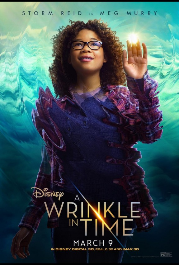 A Wrinkle In Time Posters & Mrs Whatsit Clip #WrinkleInTime