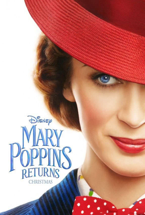 Mary Poppins Returns Teaser Trailer And Poster #MaryPoppinsReturns