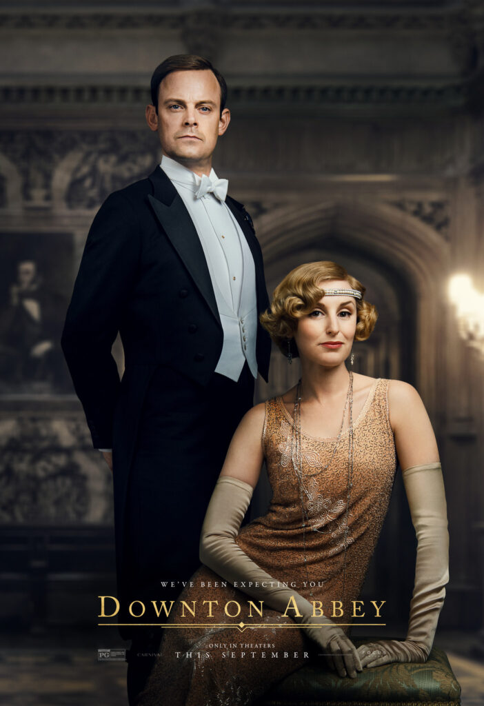 9 New Downton Abbey Character Posters #DowntonAbbeyFilm