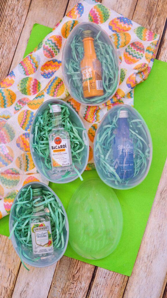 Liquor Easter Eggs