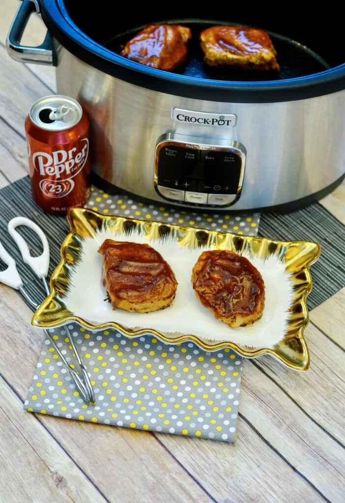 Dr Pepper Pork Chops